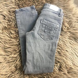 Vigoss grey wash straight leg jeans - size 7G